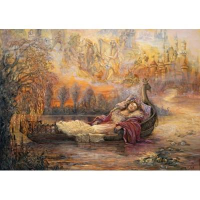 Grafika-T-00260 Josephine Wall - Dreams of Camelot