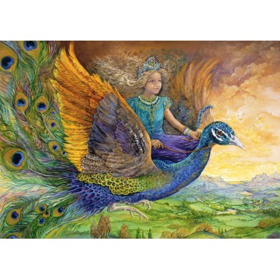 Grafika-T-00274 Josephine Wall - Peacock Princess