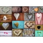 Grafika-T-00319 Collage - Love