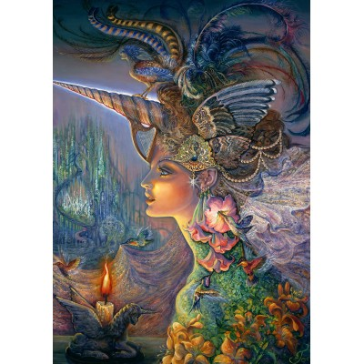 Grafika-T-00361 Josephine Wall - My Lady Unicorn