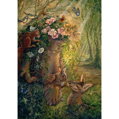 Grafika-T-00371 Josephine Wall - The Wood Nymph