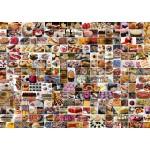 Grafika-T-00372 Collage - Gâteaux