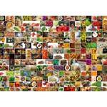 Grafika-T-00375 Collage - Couleurs dans la Cuisine