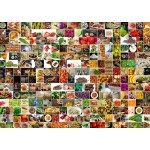 Grafika-T-00376 Collage - Couleurs dans la Cuisine