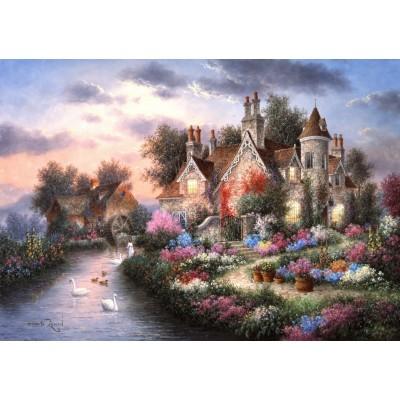 Grafika-T-00507 Dennis Lewan - Mill Creek Manor