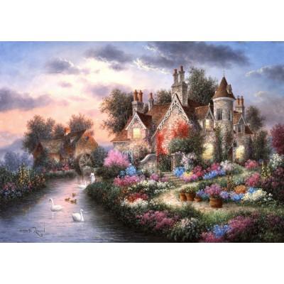 Grafika-T-00508 Dennis Lewan - Mill Creek Manor
