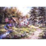 Grafika-T-00509 Dennis Lewan - Glacier Ridge Manor