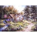 Grafika-T-00510 Dennis Lewan - Glacier Ridge Manor