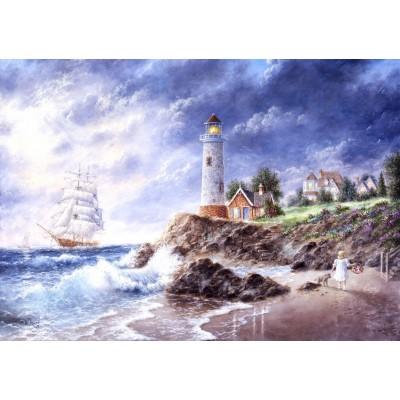 Grafika-T-00511 Dennis Lewan - Anchor Cove