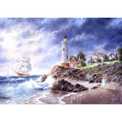 Grafika-T-00512 Dennis Lewan - Anchor Cove