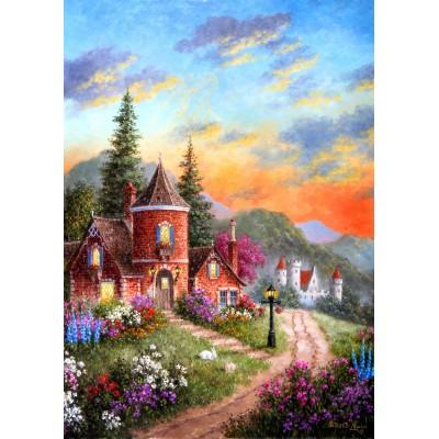 Grafika-T-00518 Dennis Lewan - Castle Ridge Manor