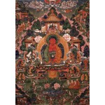 Grafika-T-00600 Buddha Amitabha in His Pure Land of Suvakti