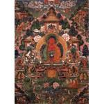 Grafika-T-00603 Buddha Amitabha in His Pure Land of Suvakti