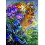 Grafika-T-00632 Josephine Wall - The Three Graces