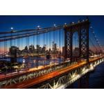 Grafika-T-00681 Brooklyn Bridge, Manhattan, New York