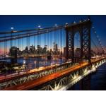 Grafika-T-00683 Brooklyn Bridge, Manhattan, New York