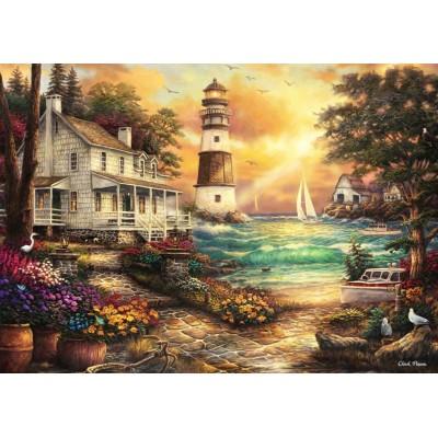 Grafika-T-00706 Chuck Pinson - Cottage by the Sea