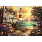 Grafika-T-00707 Chuck Pinson - Cottage by the Sea