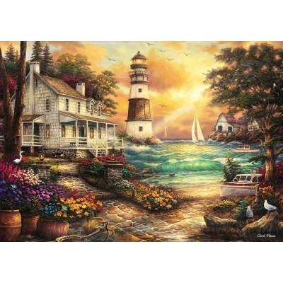 Grafika-T-00708 Chuck Pinson - Cottage by the Sea