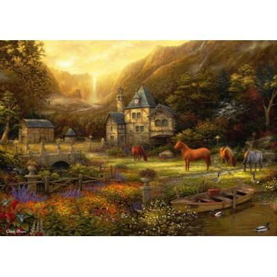 Grafika-T-00819 Chuck Pinson - The Golden Valley