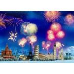 Grafika-T-00867 Nouvel An autour du Monde