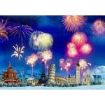 Grafika-T-00868 Nouvel An autour du Monde