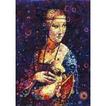 Grafika-T-00888 Leonardo da Vinci: Lady with an Ermine, by Sally Rich