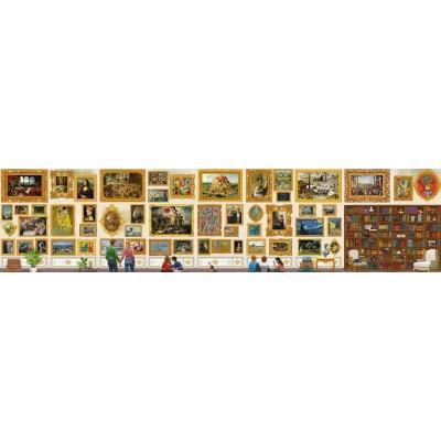 Grafika-T-00944 Plus Grand Puzzle du Monde - Travel around Art !