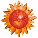HCM-Kinzel-59112 Puzzle 3D en Plexiglas - Soleil