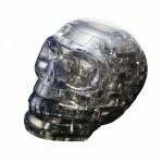 HCM-Kinzel-59114 Puzzle 3D en Plexiglas - Crâne noir