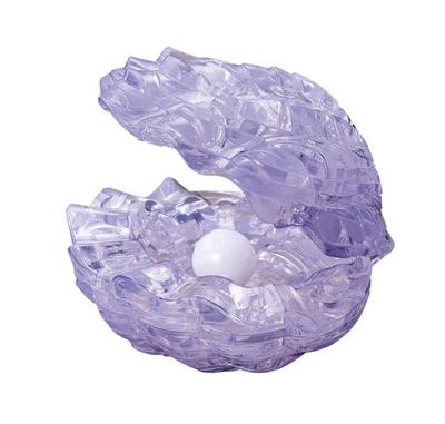 HCM-Kinzel-59119 Puzzle 3D en Plexiglas - Huître avec perle
