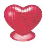 HCM-Kinzel-59161 3D Crystal Puzzle - Coeur Rouge