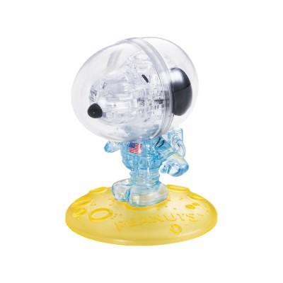 HCM-Kinzel-59172 Puzzle 3D en Plexiglas - Snoopy Astronaute