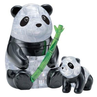 HCM-Kinzel-59179 Puzzle 3D en Plexiglas - Pandas