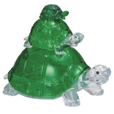 HCM-Kinzel-59185 3D Crystal Puzzle - Tortues