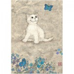 Heye-29626 Jane Crowther : White Kitty