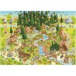 Heye-29638 Marino Degano : Habitat de la forêt noire