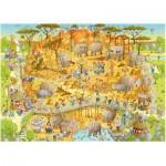 Heye-29639 Marino Degano : Habitat Africain