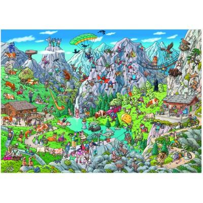 Heye-29680 Birgit Tanck : Alpine Fun