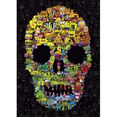Heye-29850 Jon Burgerman - Doodle Skull