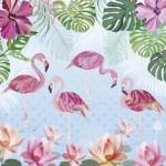 Heye-29852 Turnowsky - Flamingos & Lilies