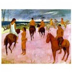 Impronte-Edizioni-049 Paul Gauguin - Cavaliers sur la Plage