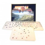 Jig-and-Puz-80018 Luxe Puzzle Table - 100 à 1.500 Pièces