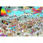 Jumbo-01652 Jan Van Haasteren : A la plage