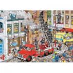 Jumbo-17279 Van Haasterne Jan : Alerte à l'incendie