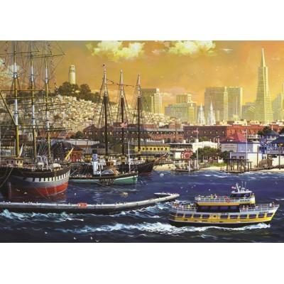 Jumbo-18552 Port de San Francisco, Etats-Unis