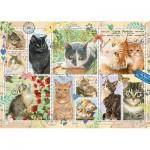 Jumbo-18813 Cat Stamps
