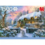 Jumbo-18830 Whitesmith's Cottage in Winter