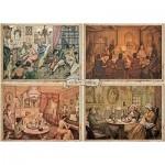 Jumbo-18856 Premium Collection - Anton Pieck, Living Room Entertainment