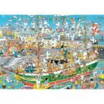 Jumbo-19014 Jan van Haasteren - Chaos de Grand Voilier